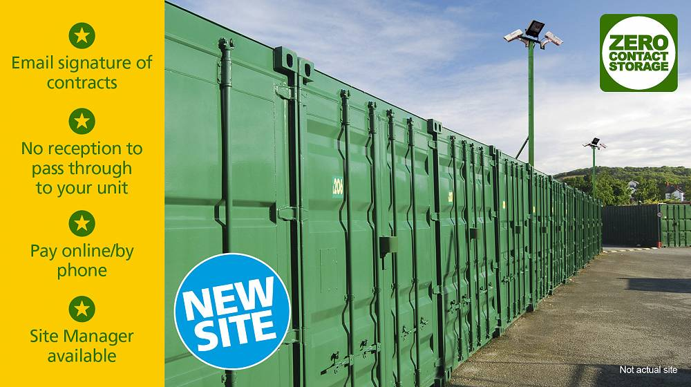 Deeside Lock Stock zero contact self storage new site