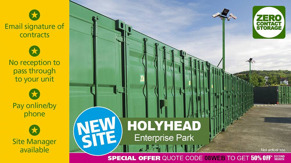 Holyhead Lock Stock zero contact self storage