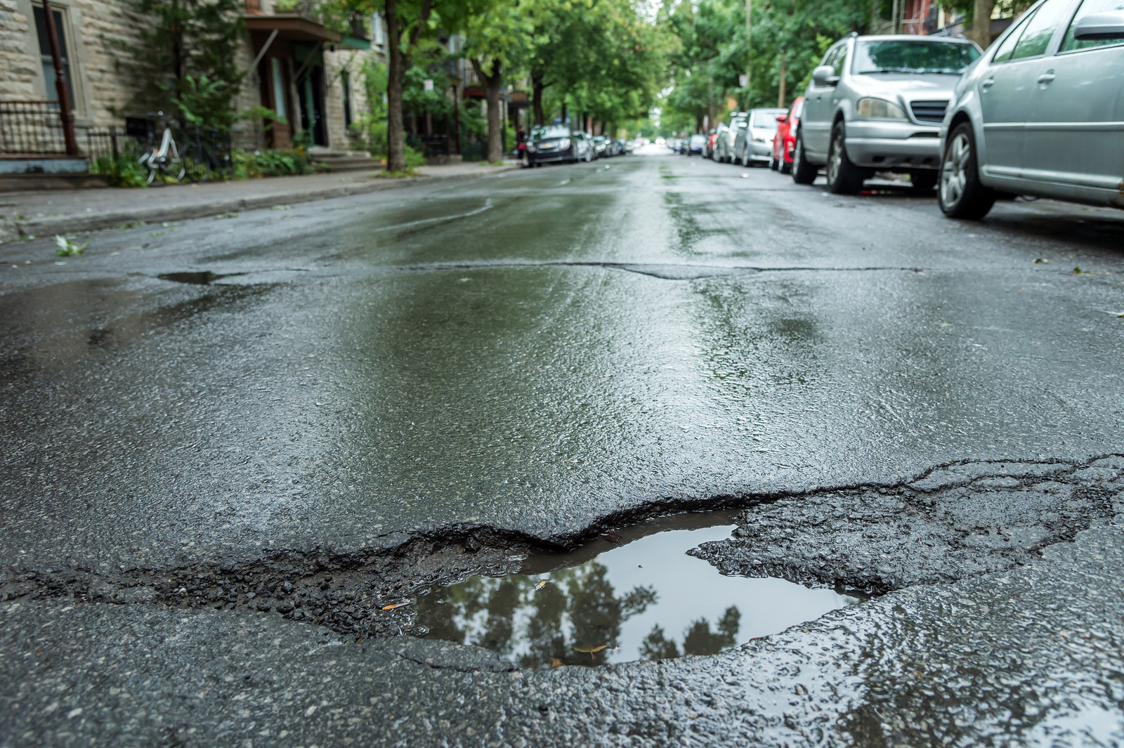 Pothole repair is top priority for van drivers